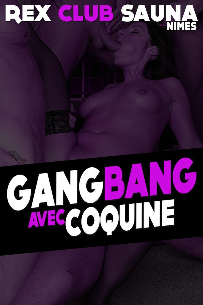 Soirée GANGBANG avec Coquine @ Rex Club Sauna | Nîmes | Languedoc-Roussillon Midi-Pyrénées | France